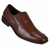 Sapato Social Ferracini 6236 24 Horas Em Couro Lançamento
