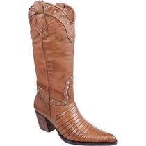 Bota Feminina Country Texana - Tatu -capelli Boots