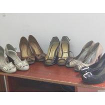 Sapato Feminino Salto Alto Tamanho 35 Lote