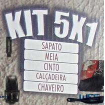 Sapato Promocao Kit 5x1 Couro Legitimo Combina Com Formatura