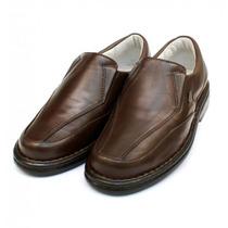 Sapato Social Masculino Anti Estresse Diabéticos Super Macio