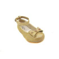 Sapatilha Infantil Feminina Bonequinha Glitter Dourado
