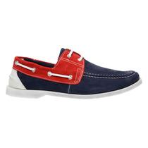 Sapatenis Dockside Sapato Masculino Couro Moda Lançamento
