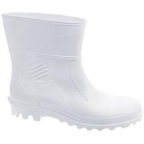 Bota Galocha Patrol Branco Linha Açougue E Frigorífico 30201
