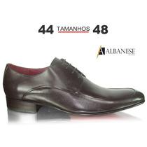 Sapato Social Café Albanese Tamanhos 40 Até 48