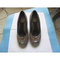 Sapato Feminino Moleca Semi-novo! Pronta Entrega!