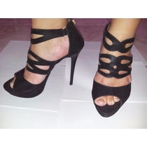 Sapato De Salto Nº 37 - Preto - Marca Linda Luz