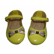Sapatilha Infantil Feminina Lupie Baby Amarela