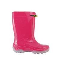 Bota Galocha Cal Infantil Pink