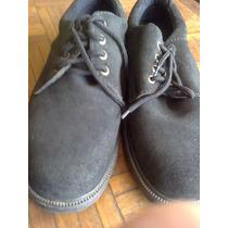 Sapato Em Nobuck Solado Grosso