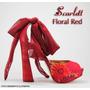 Salto Alto Scarlett Floral