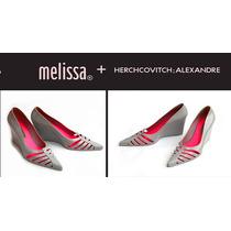 Melissa Scarfun Herchcovitch Sapato Salto Anabela Sapatilha