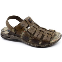 Sandalia Pegada 30618 Marrom | Pixolé Calçados