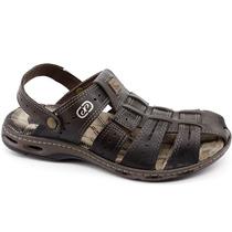 Sandalia Pegada 30615 Musgo | Pixolé Calçados