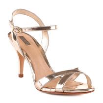 Sandália Schutz Bronze 35 (nova)