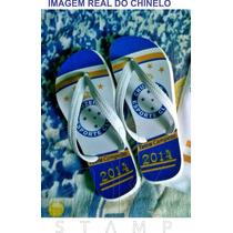 Chinelo Personalizado - Coleção Cruzeiro Tetracampeão 2014