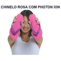 Chinelo Rosa Com Photon Íon