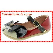 Sapatilha Infantil Minnie Mouse Vermelha Frete Gratis Brasil