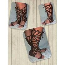 Sandália Gladiadora Alta Moda