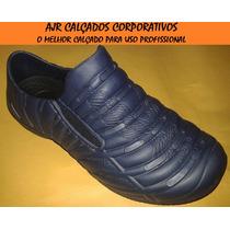 Sapatênis Azul Fechado Profissional [ Enfermagem, Crocks ]