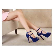 Sapato Salto Alto De Luxo Importado Feminino Frete Grátis
