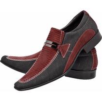 Sapato Masculino Tipo Freeway Ferracini Democrata Lançamento
