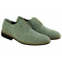 Sapato Masculino Sandro Moscolon Grey Suede - Camurça Cinza