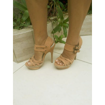 Sapato Sandalia Importada Salto Alto Frete Gratis