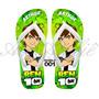 Sandálias Chinelo Havaianas Personalizadas Ben 10 Omnitrix