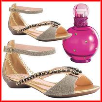 Sandália Feminina Ster Elegance Grátis Perfume Importado*