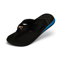 Sandália Kenner Nk5 Amp Gold Black Preto/azul