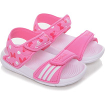 Sandália Adidas Disney Minnie Mouse Akwah Baby Novo 1magnus