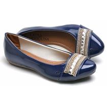 Sapatilha Feminina Mocassim Social Sapato Pedras Strass Luxo