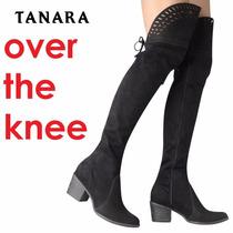 Bota Tanara Over The Knee Couro Camurça (acima Joelho) T0222