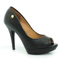 Sapato Peep Toe Feminino Vizzano