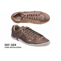 Tênis Sapatênis Osklen Skf304 Feminino - Preço Imperdível