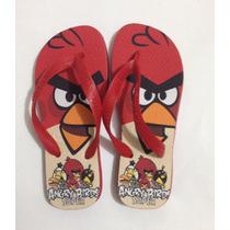 Chinelo Havaianas Personalizado - Angry Birds
