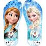 Chinelo Personalizado Frozen + Frete Grátis + Envio Rápido
