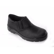 Botina/ Sapato Elástico De Segurança Vj S/ Bico De Aço 033se