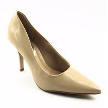 Sapato Scarpin Feminino Nude Bege Verniz Beira Rio 582064