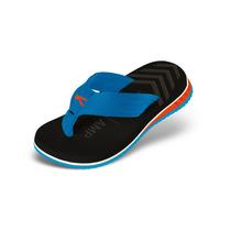Sandália Kenner Infantil Joy Nk5 Amp Highlight Preto/azul
