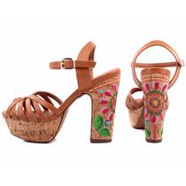 Sandália Feminina Floral Torricella Lojas Bec Calçados