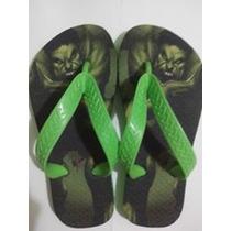 Chinelo Personalizados Infantil Hulk
