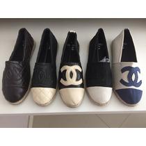 Alpargatas Chanel Inspired Espadrilles Importadas