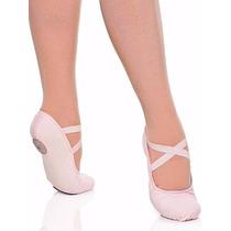 Sapatilha De Dança Capézio Glove Foot Strech Couro