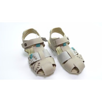 Sandália Ortopasso Confort Baby Marfim/ice/verde