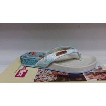 Chinelo Feminino Comfortflex 1540401 Aqua