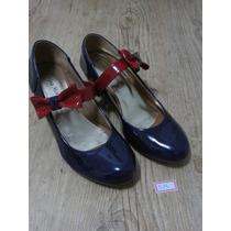 Sapato Boneca Salto Baixo | Sapato De Salto |