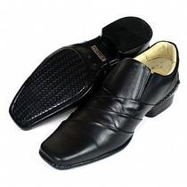 Sapato Social Casual Em Couro Stilo Ferracini Rafarillo Luxo