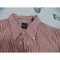 Docsaide Caramelo Ellus 44, Camisa Gap Tam, G